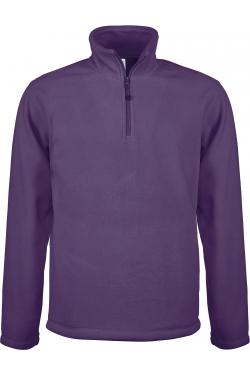 Micropolaire col zippé Homme 100% polyester