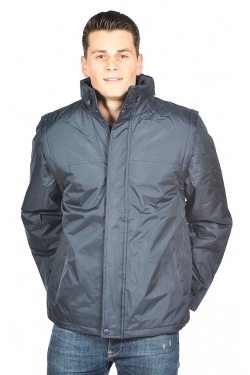 Vest parka Homme 100% polyester manches amovibles