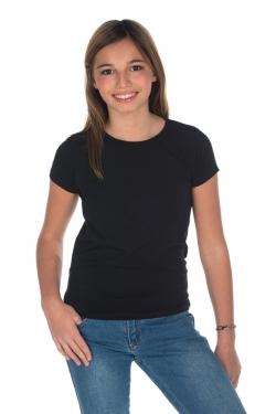T-shirt FILLETTE 165grs 92% cot/8% Elasthanne