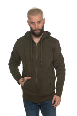 Sweat Bio Zippé Capuche 300