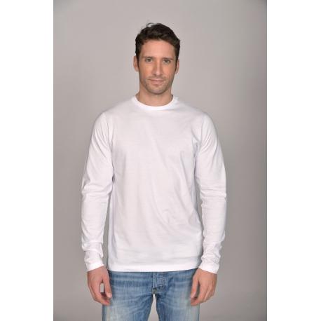 T-shirt ML 180 gr 100% coton