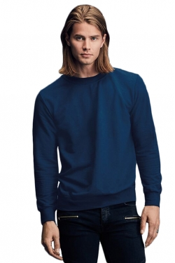 S-Shirt French Terry Col Rond
