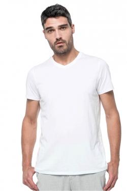 Tee-Shirt Supima Col V