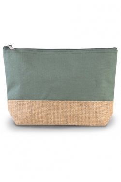 Pochette toile coton & Jute