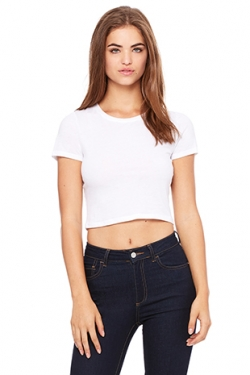 T-shirt crop Girlie Tri-Blend