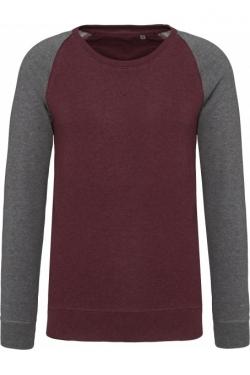 Sweat shirt Raglan bicolore