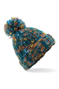 Bonnet twister à pompon