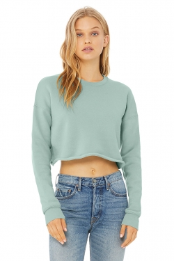 Sweat-Shirt Femme CROP