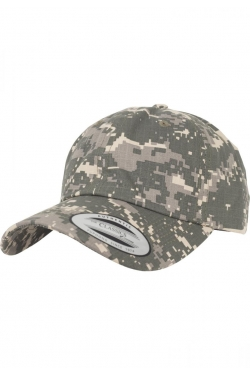 Digital Camo Cap Low profile