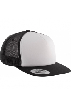 6006W - Foam trucker curved visor